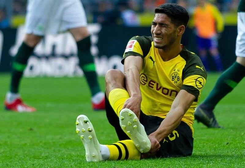 الاصابة تنهي موسم اشرف حكيمي بعد تعرضه لكسر على مستوى القدم