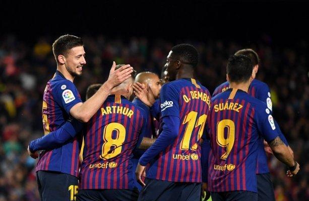 برشلونة يفوز على ألافيس و يضع يده على لقب الليجا