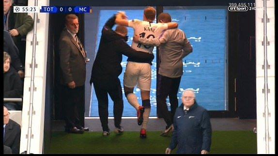 تقارير تفيد بإنتهاء موسم هاري كين بعد إصابته أمام مانشستر سيتي