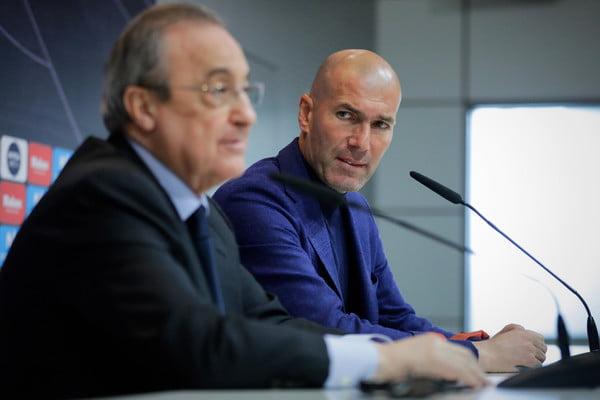 زين الدين زيدان يخيب آمال جمهور ريال مدريد