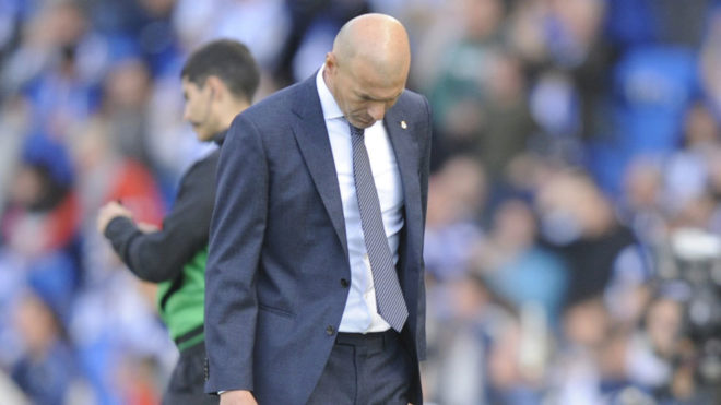 زيدان بعد الخسارة بثلاثية : أتمنى أن ينتهي الموسم الآن
