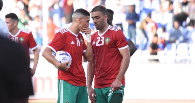 لهذا السبب غادر حمد الله معسكر المنتخب المغربي