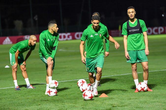 نصير مزراوي يعود لتدريبات منتخب المغرب استعدادا لناميبيا