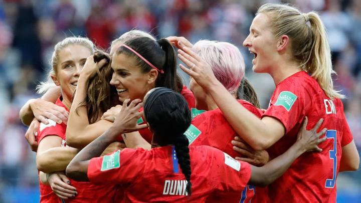 منتخب أمريكا يحقق أكبر فوز فى تاريخ كأس العالم للسيدات