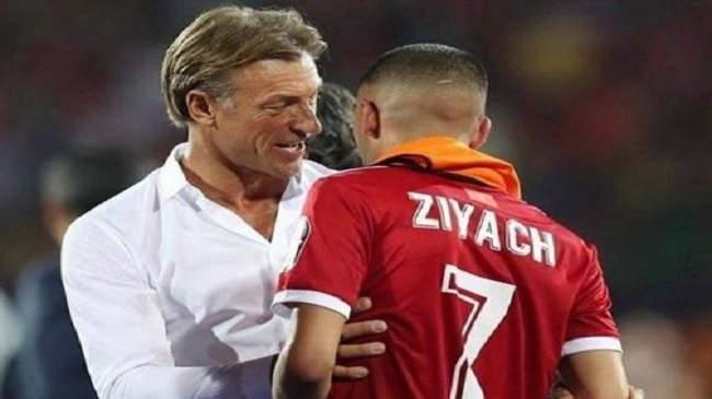 حكيم زياش خارج تشكيلة المنتخب المغربي لمواجهة جنوب افريقيا