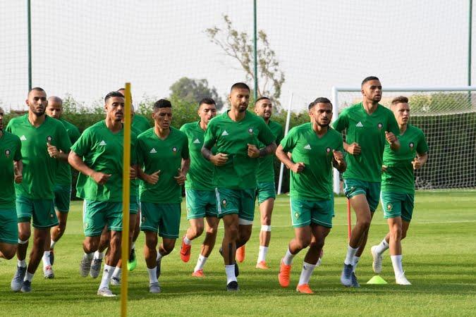 هذا برنامج المنتخب المغربي في مصر قبل مواجهة ناميبيا