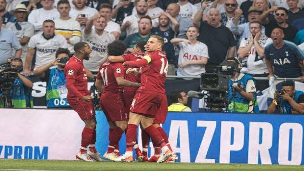 ليفربول يفوز على توتنهام ويتوج بطلا لأوروبا