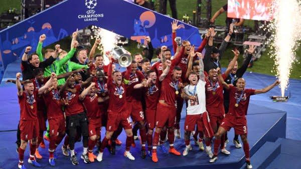 برشلونة يهنئ ليفربول بعد التتويج بدوري أبطال أوروبا