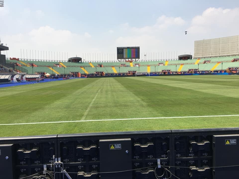 المنتخب المغربي يكتفي بزيارة ملعب القاهرة للاستئناس والتعرف على أرضيته