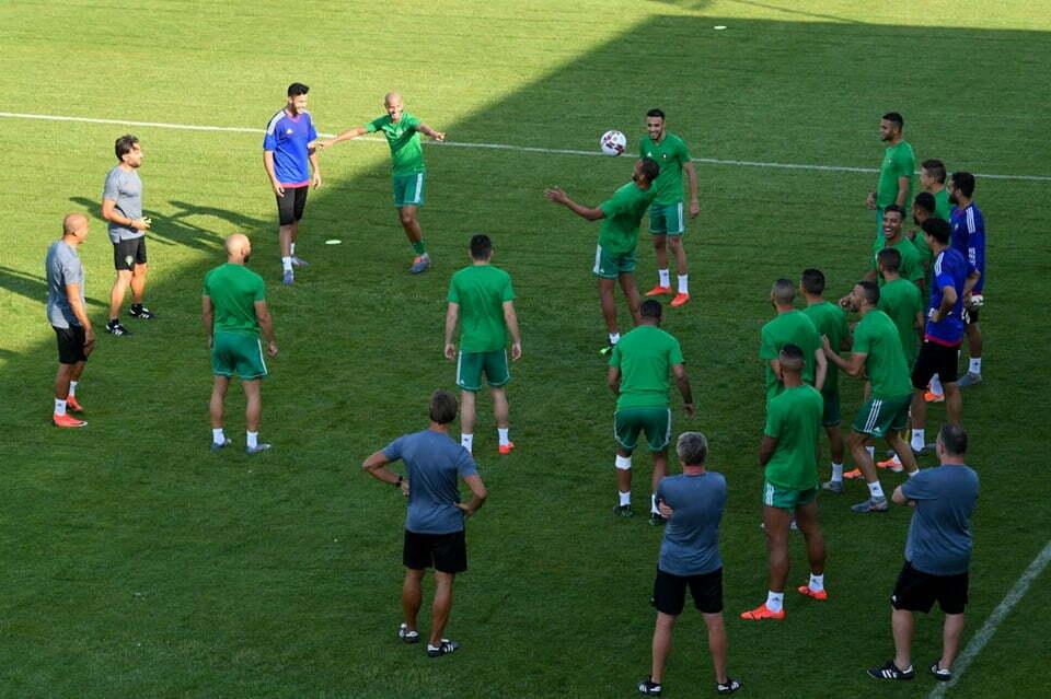 المنتخب المغربي يخوض الحصة ما قبل الأخيرة قبل مباراة ناميبيا