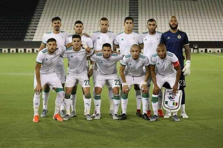 التشكيلة الأساسية للمنتخب الجزائري في مباراة كينيا