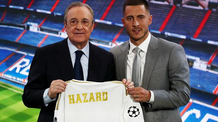 هازارد يفجرها ويكشف هدفه الرئيسي مع ريال مدريد