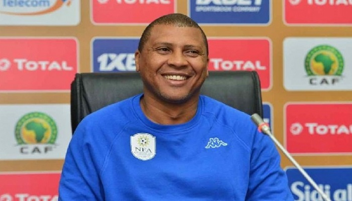مدرب ناميبيا قبل مباراة الغد : قادرون على هزم المنتخب المغربي