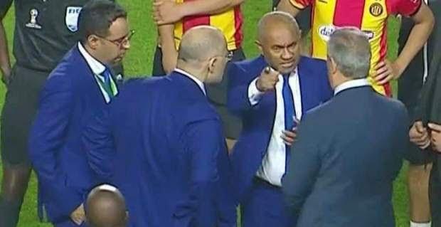 رسميا.. إيقاف رئيس الترجي التونسي عامين ومنع إقامة مباريات في رادس