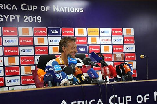 رونار: مباراة جنوب إفريقيا صعبة ويلزمنا التركيز فيها و لن نتجاوز 3 تغييرات