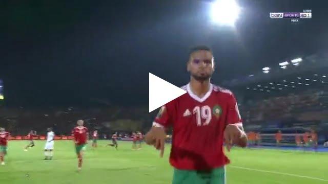 هدف المنتخب المغربي الرائع في مرمى كوت ديفوار