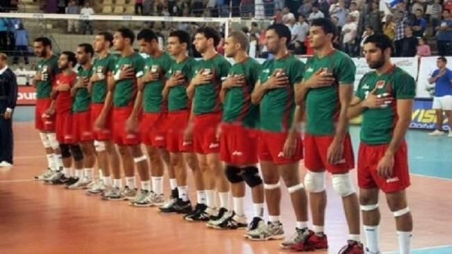 المنتخب المغربي ينهزم أمام مصر في بطولة أفريقيا للطائرة