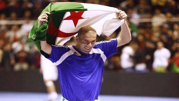 زين الدين زيدان يبارك لمنتخب الجزائر