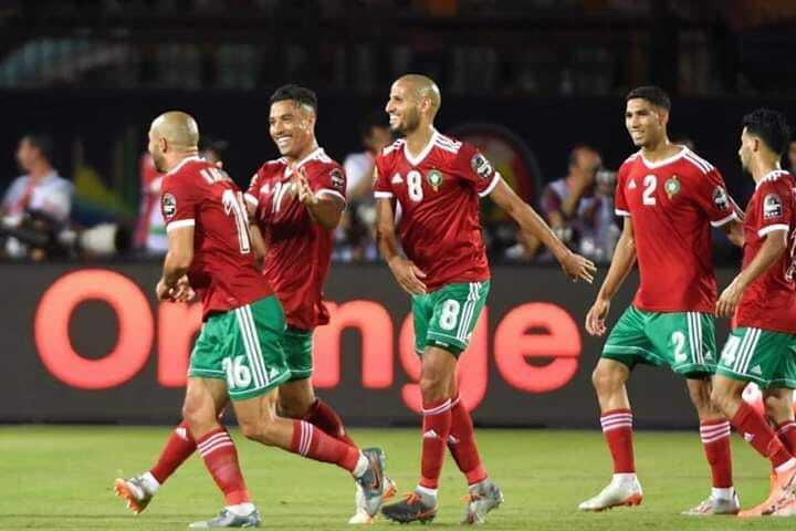 التشكيلة الرسمية للمنتخب المغربي لمواجهة جنوب افريقيا