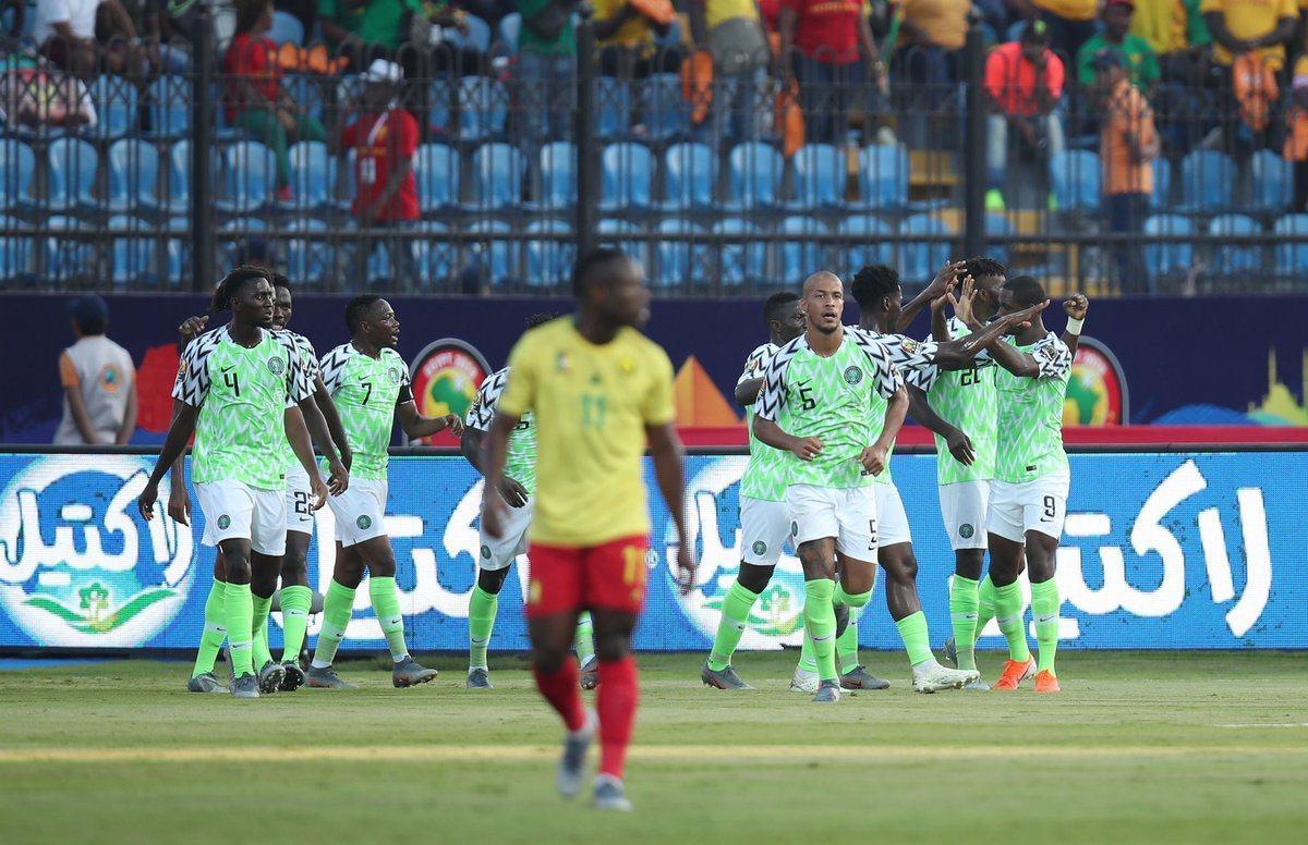 نيجيريا تقصي الكاميرون وتنتظر الفائز من مصر وجنوب أفريقيا في ربع نهائي الكان