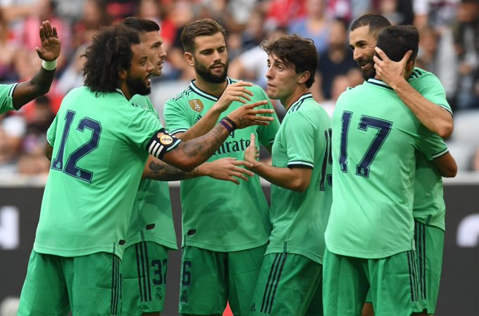 كأس أودي : ريال مدريد يحصد المركز الثالث بخماسية في فنربخشة