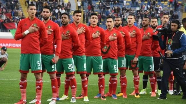 """لائحة """"عموتة"""" النهائية استعدادا للمباراة الفاصلة أمام الجزائر"""