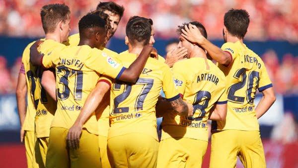 برشلونة يسقط في فخ التعادل أمام أساسونا