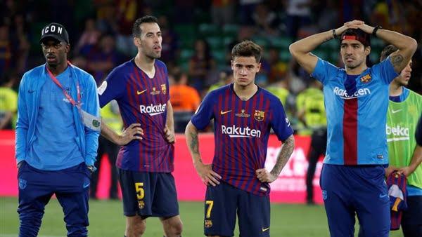 برشلونة يستعد لطرد نجمي الفريق خلال الصيف الحالي