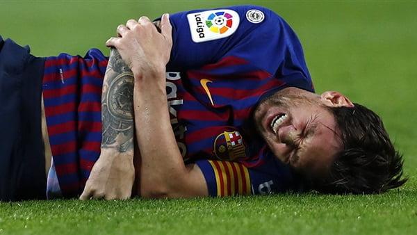 بشري سارة لجماهير برشلونة بشأن إصابة ميسي