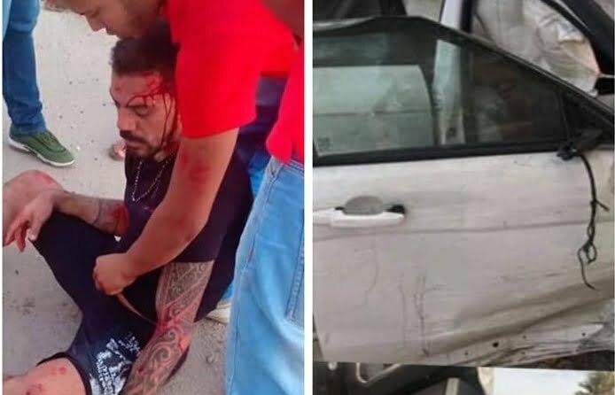 حادث مروع لمهاجم منتخب مصر وينقل إلى المستشفى في حالة خطرة