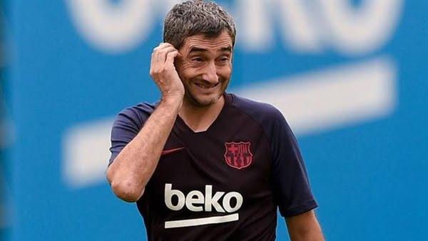 عاجل.. لاعبي برشلونة يتمردوا على فالفيردي