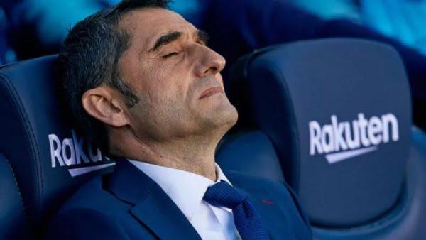 فالفيردي يواجه خطر الإقالة من برشلونة