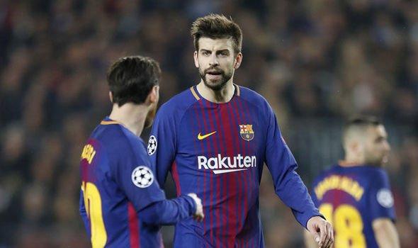 بيكيه يعلق على البند المثير في عقد ميسي لمغادرة برشلونة