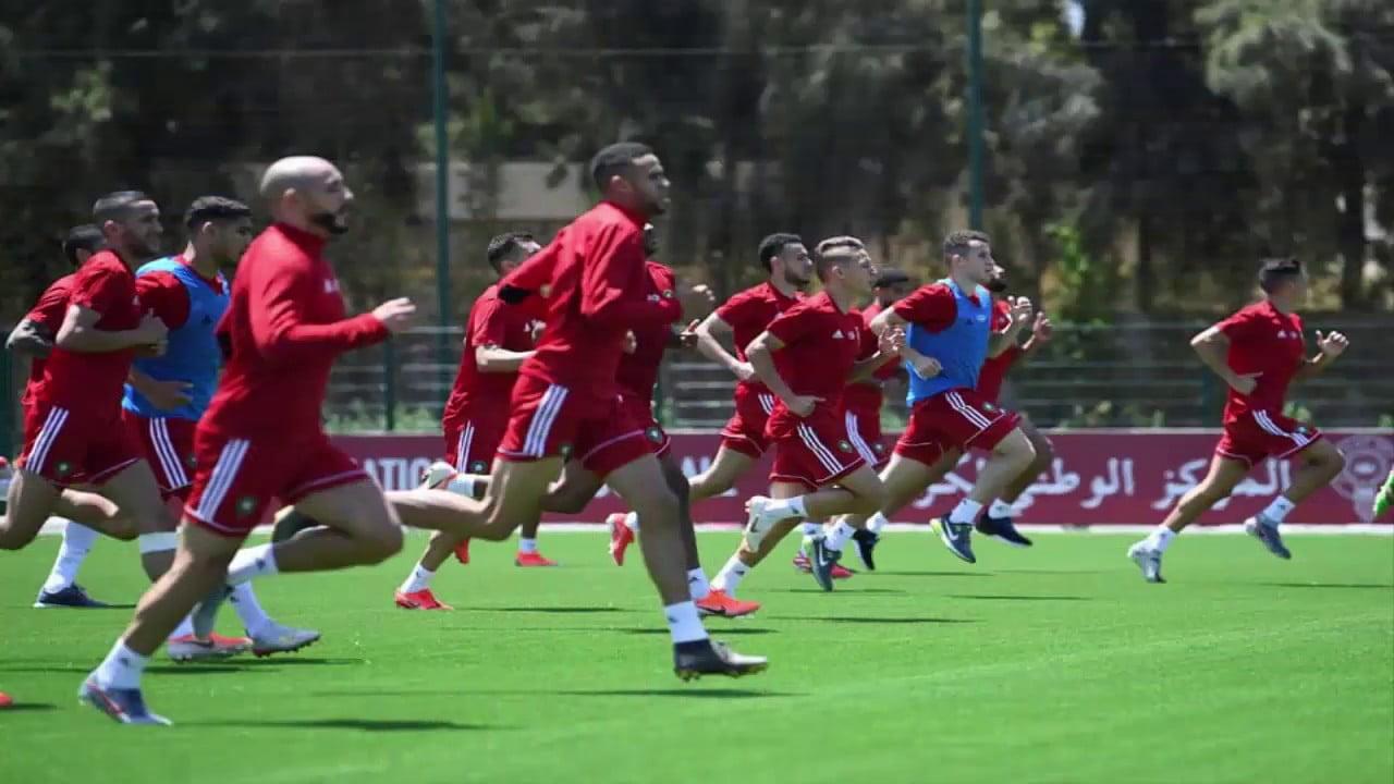 المنتخب المغربي يجري أول حصة تدريبية بقيادة المدرب الجديد وحيد حاليلوزيتش