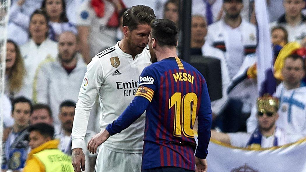 كلاسيكو برشلونة وريال مدريد