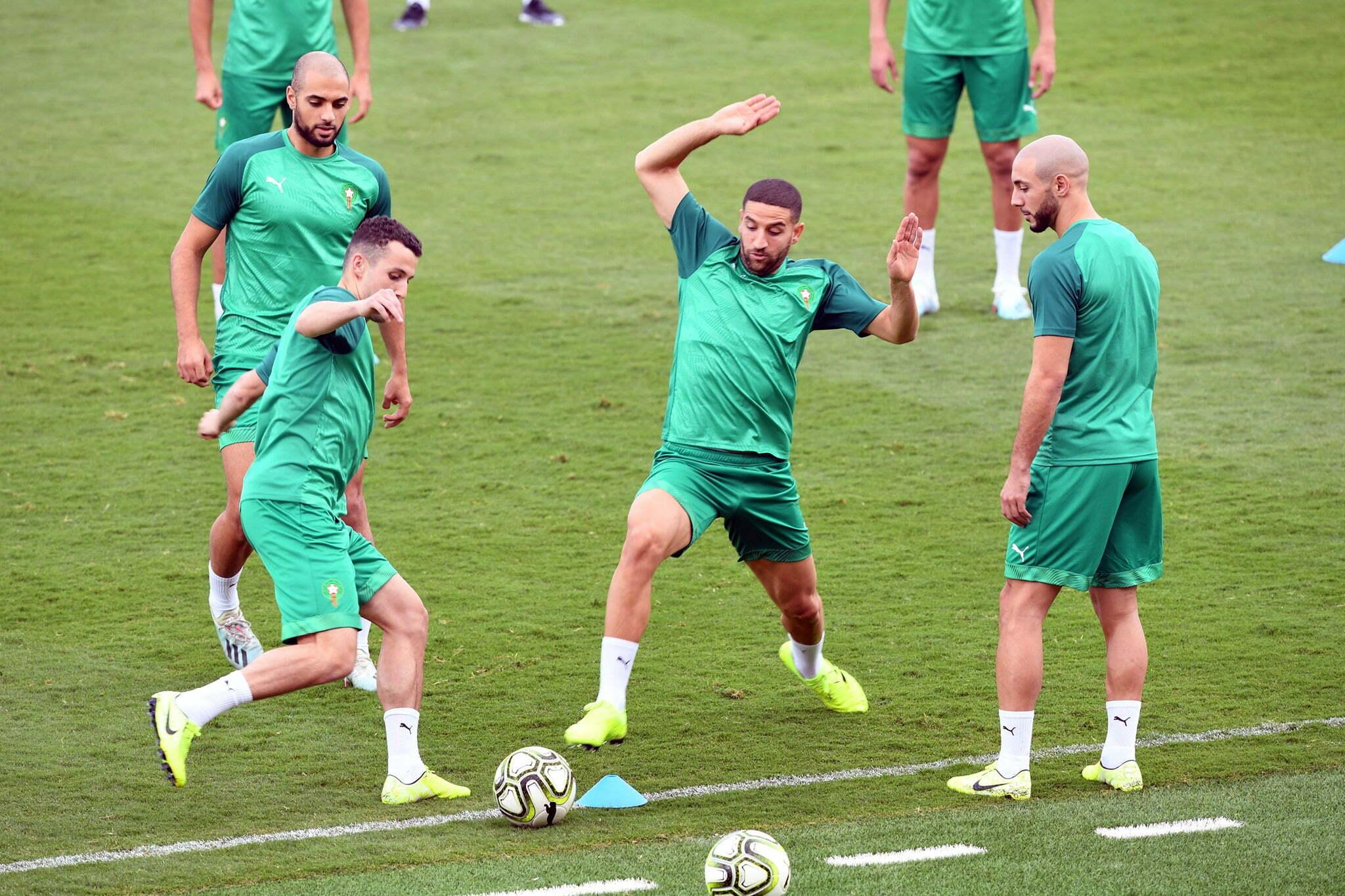 """التشكيل المتوقع """"للأسود"""" في مباراة المغرب وليبيا"""