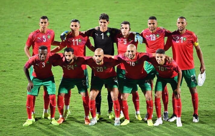 تشكيلة المنتخب المغرب