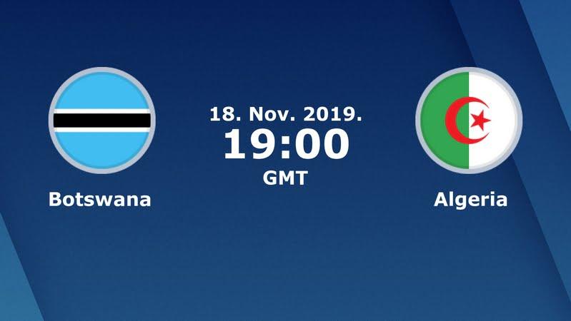 الجزائر وبوتسوانا بث مباشر