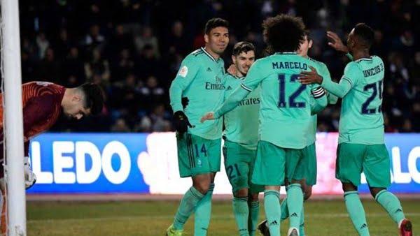 ريال مدريد ضد بلد الوليد