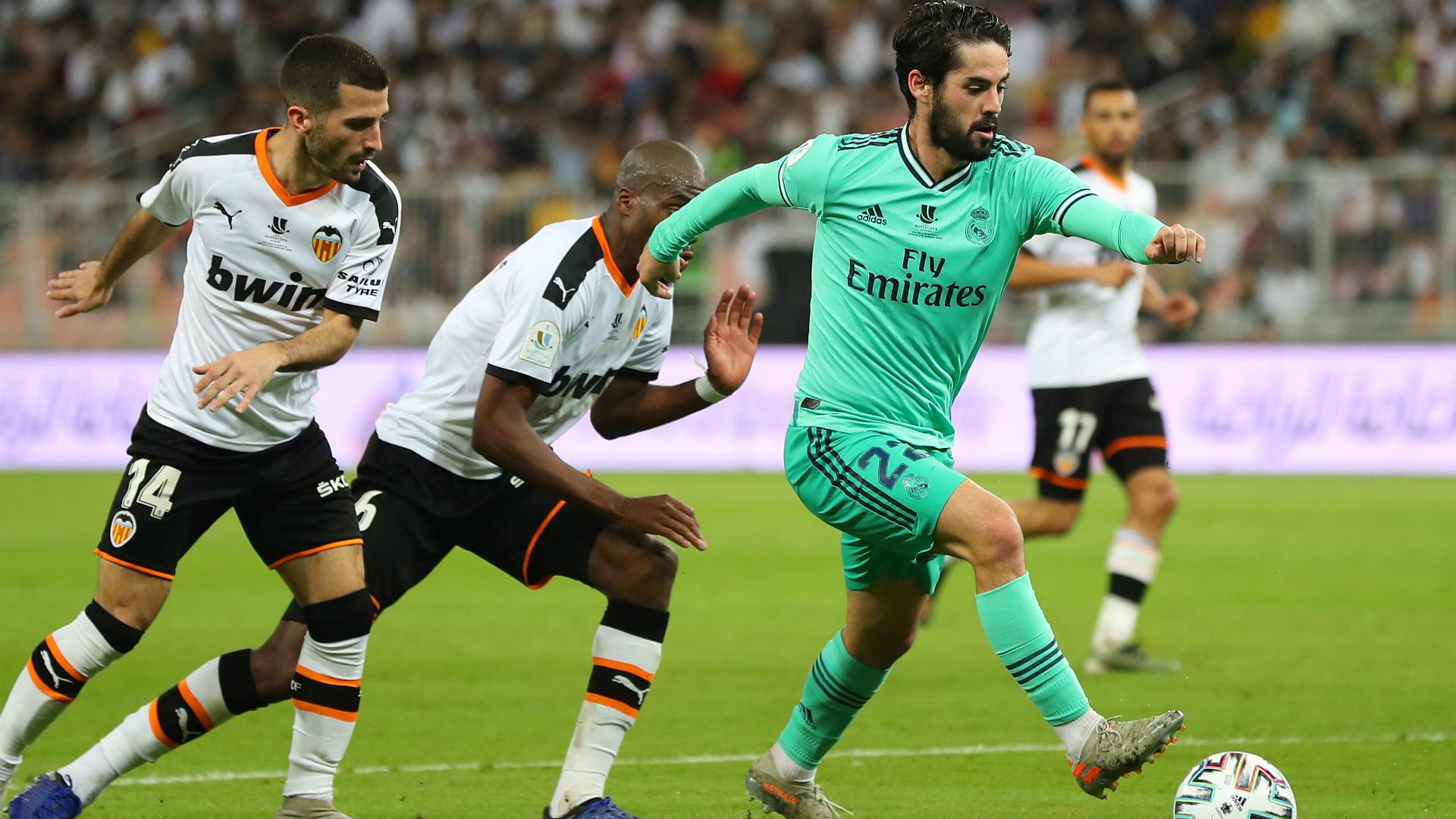 موعد مباراة ريال مدريد وفالنسيا والقنوات الناقلة