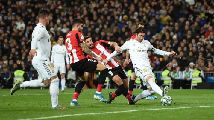 مباراة ريال مدريد وأتلتيك بلباو