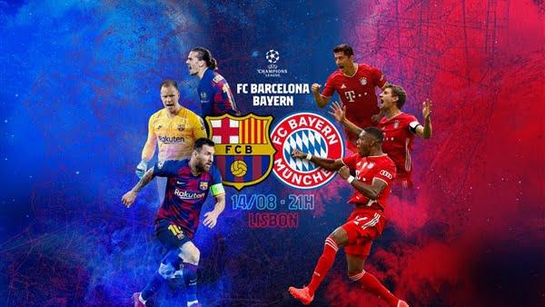 موعد مباراة برشلونة وبايرن ميونخ في دوري أبطال أوروبا