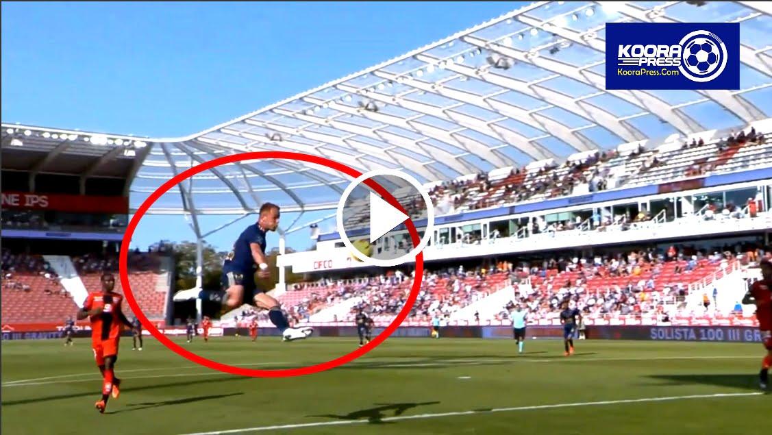 فيديو: هدف خرافي على طريقة الكابتن ماجد في الدوري الفرنسي