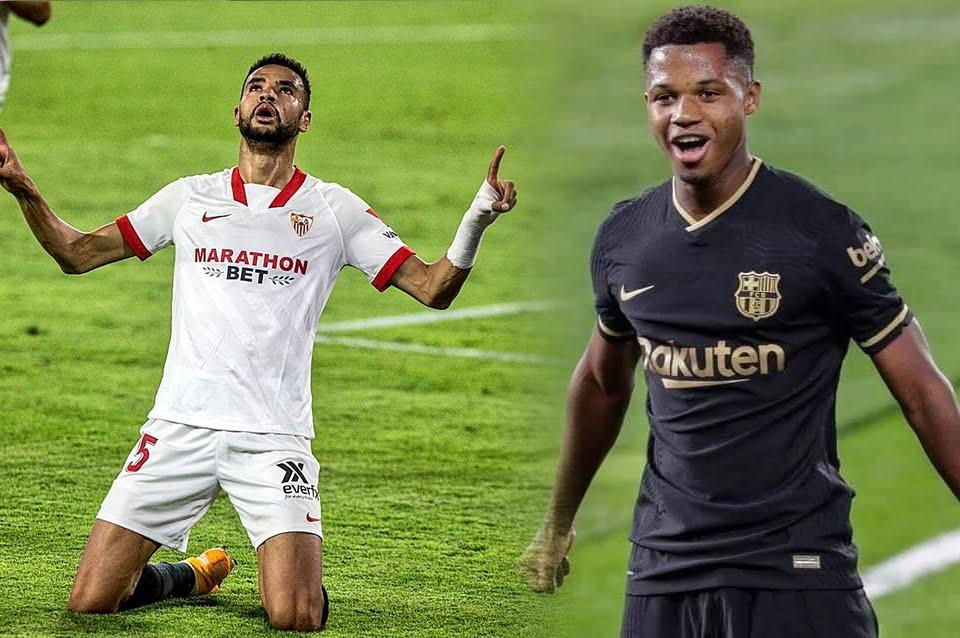 مباراة برشلونة ضد إشبيلية