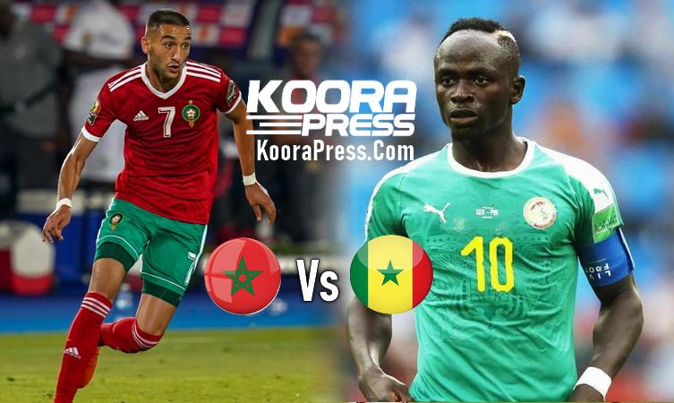 المغرب والسنغال