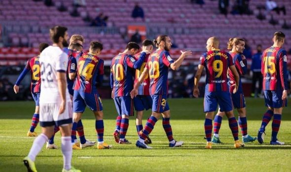 كورنيا ضد برشلونة