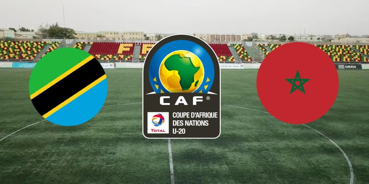 موعد مباراة المغرب وتنزانيا