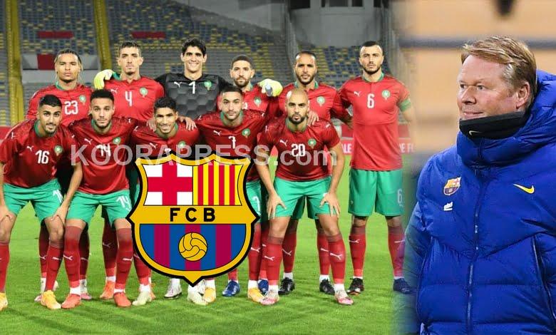 مدرب برشلونة