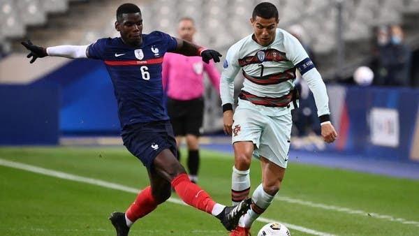 فرنسا ضد البرتغال