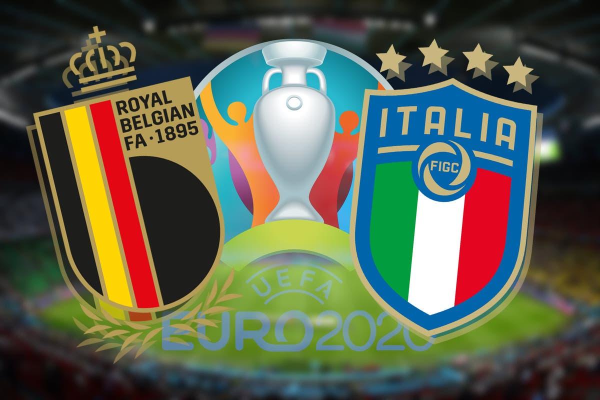 بلجيكا وإيطاليا